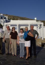 Μύκονος IMARF με τους Robert Russell και Neil McLean